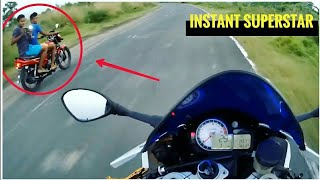 People Reaction to BMW S1000rr