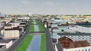 Gradoservice - 3D model Kazan city