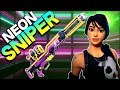 HUSK SPOTTED!!! - Neon Sniper Rifle Gameplay – Fortnite Save the World PVE - Into the Storm Event