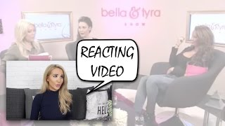 www.kissies.se - Reacting to Kissie i Bella & Tyra show!!