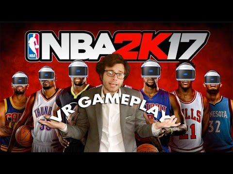 NBA 2K17 VR Gameplay PlayStation VR I Should I buy 2K17 VR? I How is NBA VR?