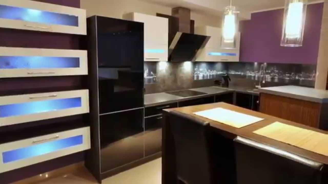 Кухня мебель. Стильные кухни фото - YouTube