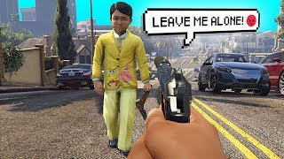 6 Year Old Kid Gets Very Angry.. (GTA RP)