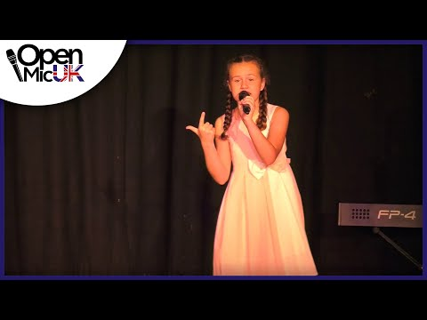 POPULAR – IDINA MENZEL performed by ANNABEL CROFT at Open Mic UK music competition
