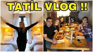 TATİLDE GÜNLÜK VLOG !! Tatil Vlog 3
