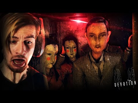 WHY ARE THEY LOOKING AT ME LIKE THAT.. || Devotion (Taiwanese Horror Game)