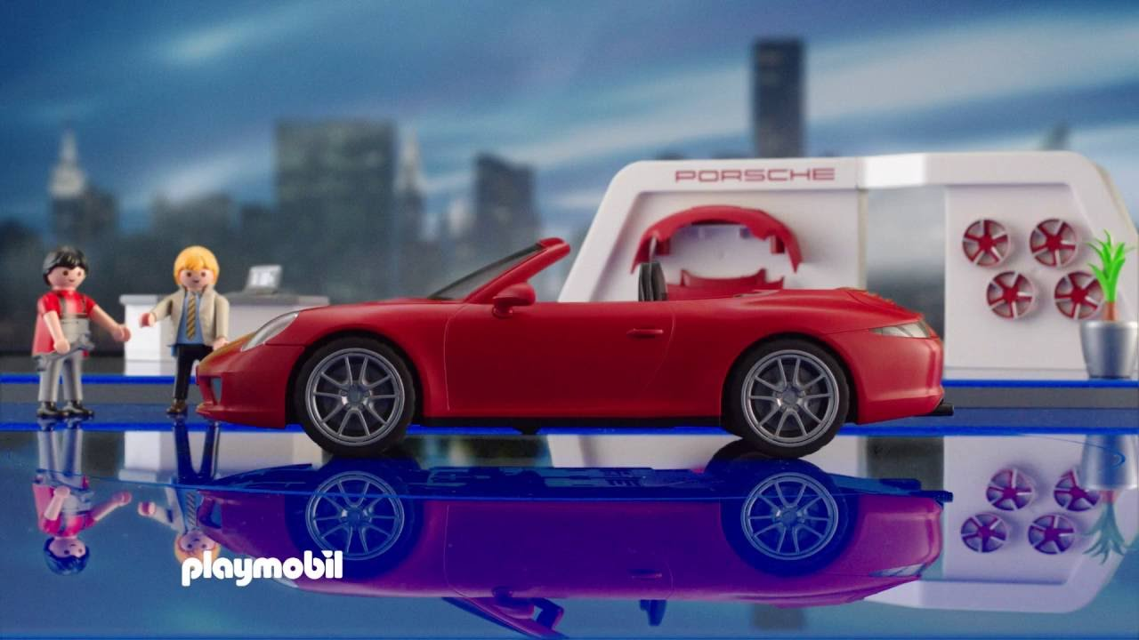 playmobil porsche 911 carreras s espa ol youtube. Black Bedroom Furniture Sets. Home Design Ideas