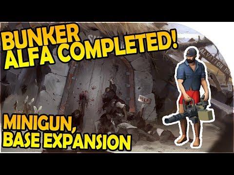FINISHING BUNKER ALFA VAULT - MINIGUN, LOOT, BASE EXPANSION - Last Day on Earth Survival Gameplay