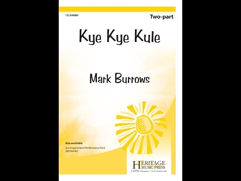 Kye Kye Kule (2pt) - Mark Burrows