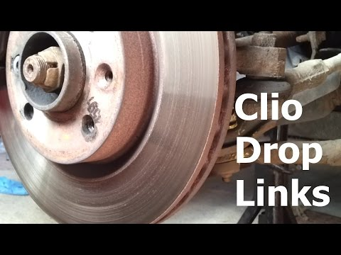 Renault Clio Drop Link / Anti Roll Bar Bush Replacement