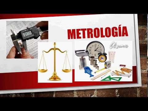 Metrologia (Legal, Industrial, científica)