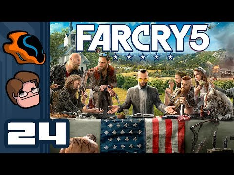 Let's Play Far Cry 5 [Co-Op] - PC Gameplay Part 24 - I Am Air Support!