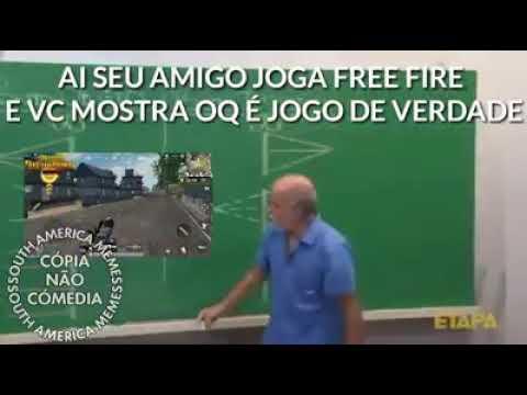 Memes De Free Fire Vs Pubg Atualizado 2018 Youtube