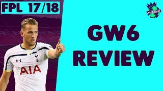 Punished by aguero, morata and lukaku | gameweek 6 review | fantasy premier league 2017/18