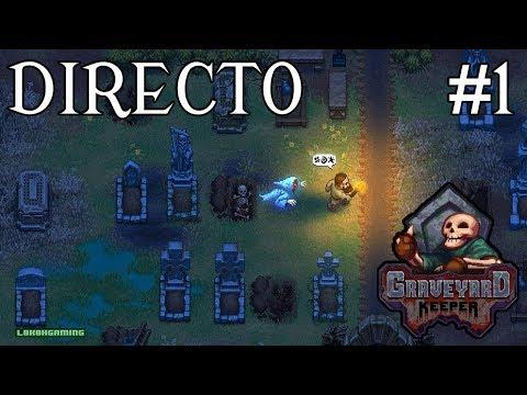 Graveyard Keeper - Directo #1 - Español - Primeros Pasos - Impresiones