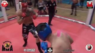 MP MMA 2017 Początkujący 93 kg Całkowski P vs Majewski P