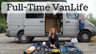 Full Time #VanLife - How I Make Money on The Road
