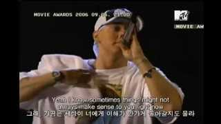 eminem mockingbird  live MTV Movie Awards 2005)