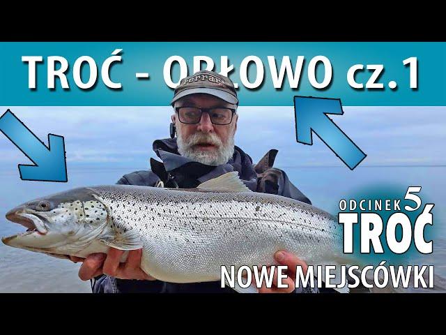 Morskie Miejscówki ➤ ORŁOWO - łowimy troć w zimie cz. 1