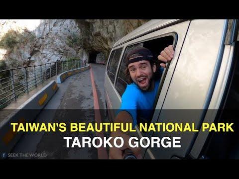 Taiwan's Most Beautiful National Park: Taroko Gorge