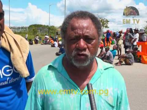 Landowners in Central Province Protest Over Concerns Regarding Royalty Payments