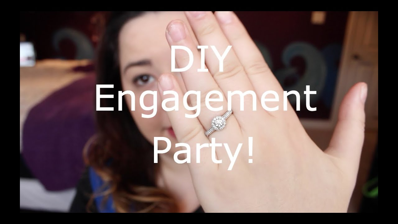DIY Engagement Party + Decor!   YouTube