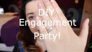 DIY Engagement Party + Decor!