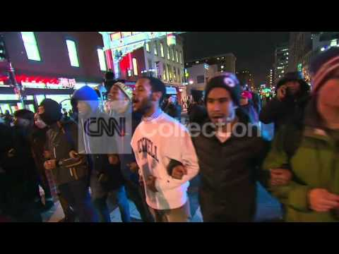 CHOKEHOLD FERGUSON PROTEST: WASHINGTON DC