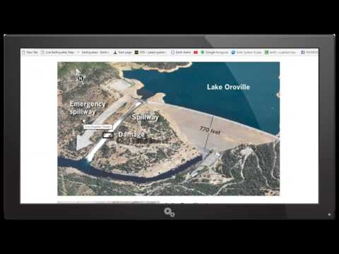 """""""LIVE STREAM"""" STATE OF EMERGENCY FOR OROVILLE CALIFORNIA"""