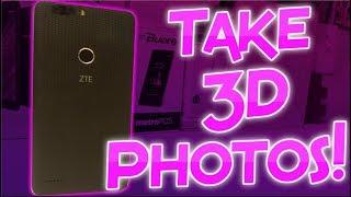 Take 3D Photos On ZTE Blade Zmax!