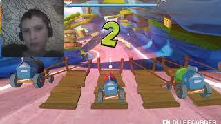 Angry Birds Go del 2 -Det är så svårt att jag på riktigt tappade lusten att prata