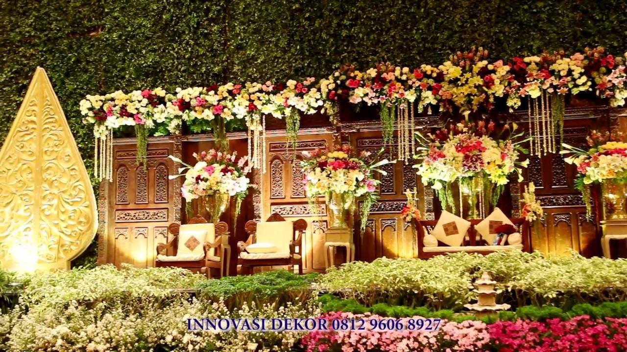 Dekorasi Pernikahan Sasanakriya Ballroom Mandira Adat Jawa