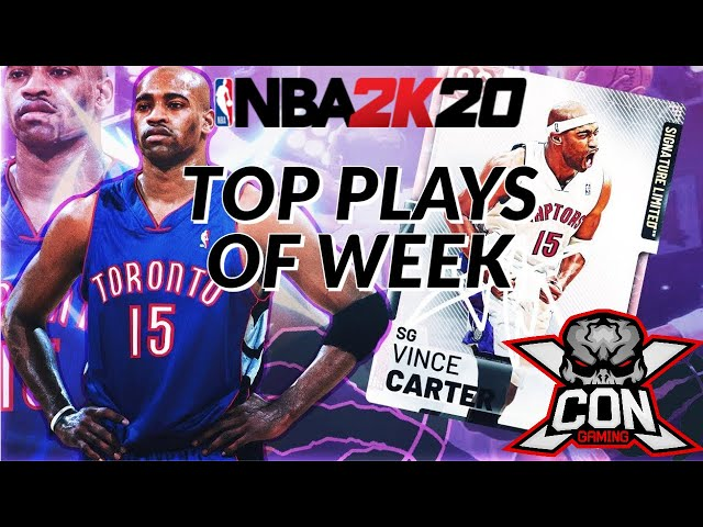 NBA 2K20 TOP PLAYS OF THE WEEK VINCE CARTER DUNKS From XCON ChiTownTee