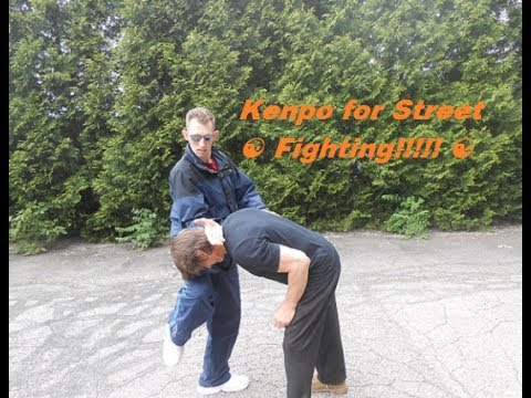 Kenpo Karate For Street Fighting