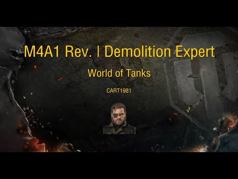 World of Tanks Console | M4A1 Rev. | Demolition Expert | Hellas Armored Division