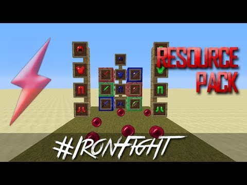 Ironfight Resource Pack Pvp 64x64 Minecraft By Snickofthedeath