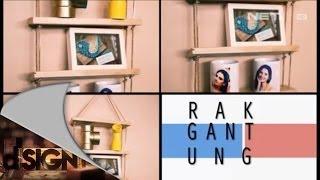 Dsign - Handcraft - Rak Gantung