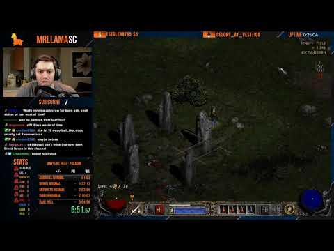 Diablo 2 - Hell Hardcore Paladin Speedrun