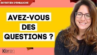 Quelles questions poser à la fin d'un entretien ?