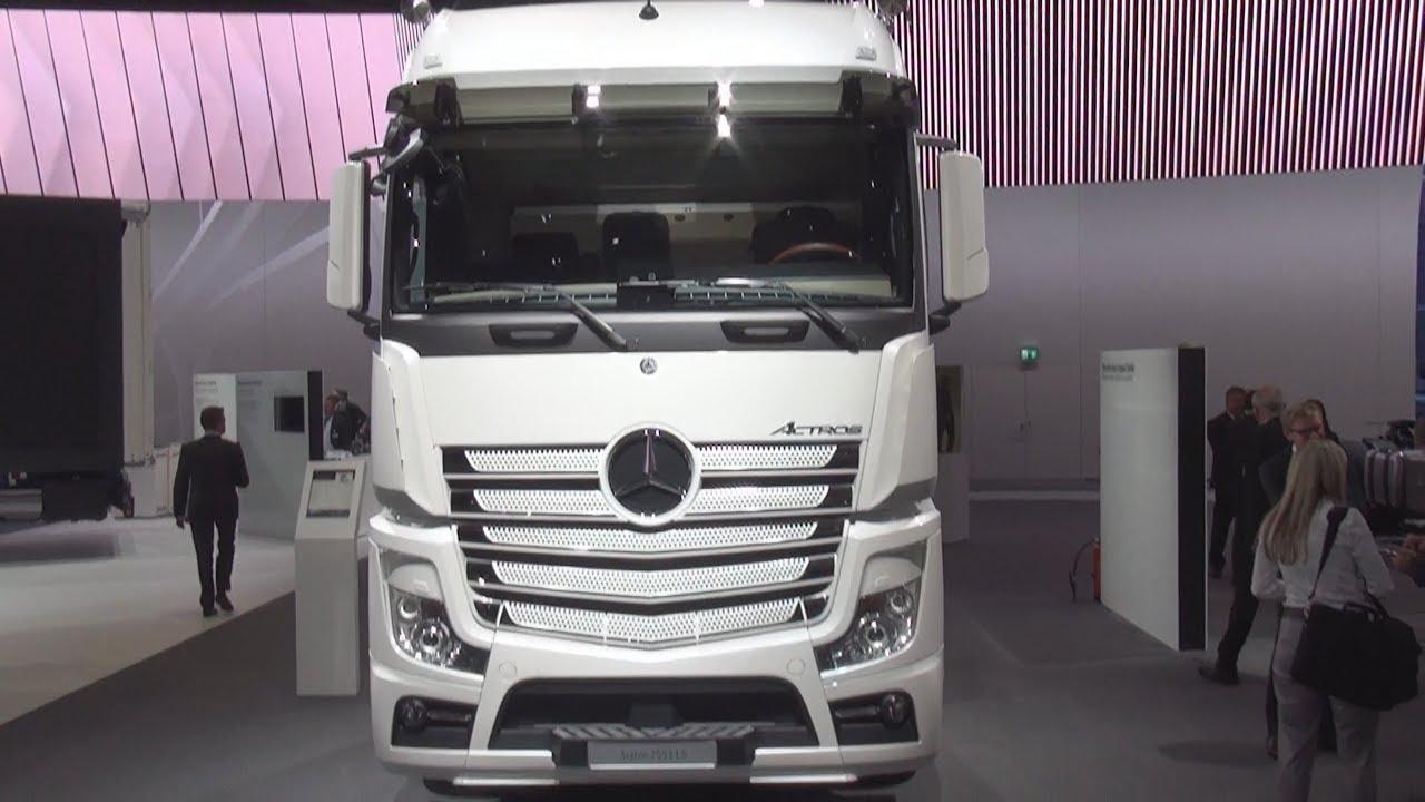 Mercedes Benz Actros 2553 Ls 6x2 4 Tractor Truck 2017 Exterior And Interior