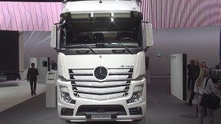 Mercedes-Benz Actros 2553 LS 6x2/4 Tractor Truck (2017) Exterior and Interior