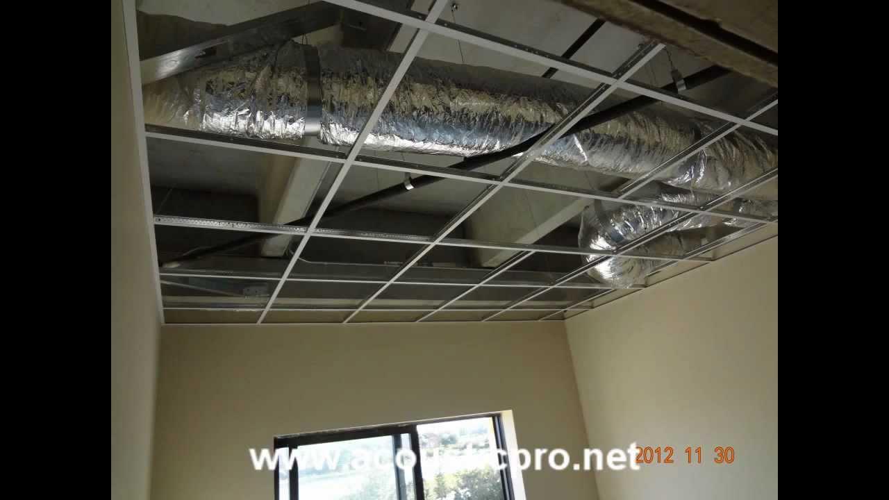 Install Ceiling Tiles Suspended Gradschoolfairs