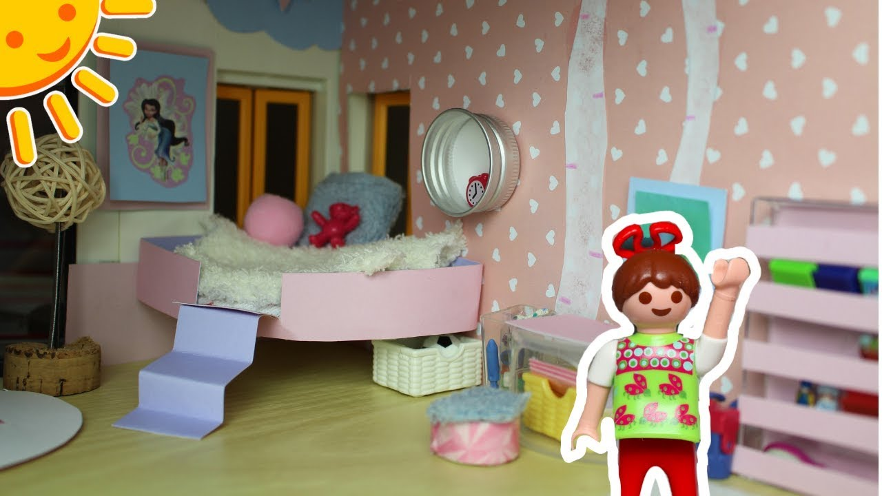 playmobil kinderzimmer f r elena pimp my playmobil familie sonnenschein dollhouse diy f r