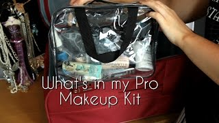 What's in my Pro Makeup Kit? Thumbnail