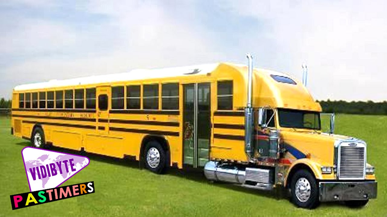 Top Crazy And Unusual Yellow School Buses YouTube - Easily coolest school world