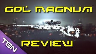 GOL Magnum Review! - Best CQB Sniper Rifle? (PC) (BF4 Gameplay/Commentary)