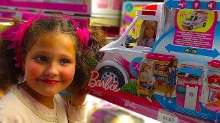 Dani and Rebeca with Mommy  shopping|toys store Funny video for kids,Children & toddlers
