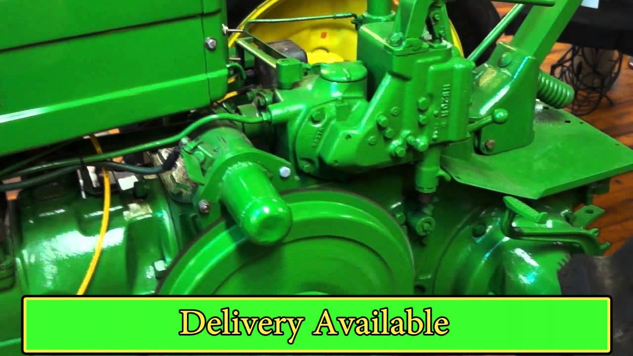 1942 John Deere Model H Fully Restored - YouTube
