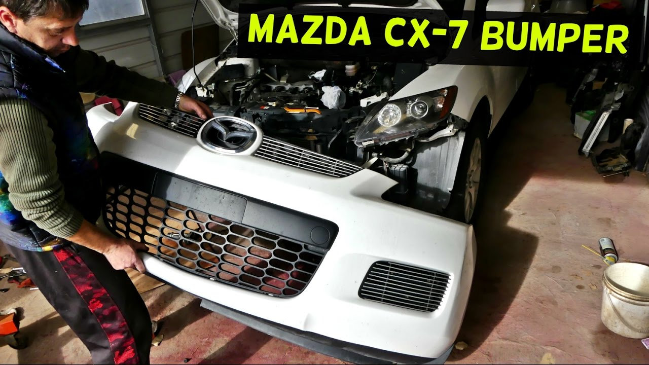 How To Remove Front Per Cover On Mazda Cx 7 Cx7 Replacement