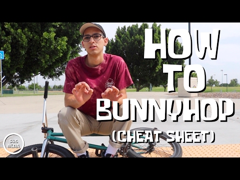 How to bunnyhop - BMX FOR BEGINNERS